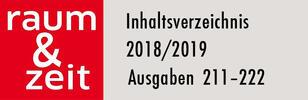 Inhaltsverzeichnis 2018/2019