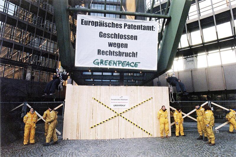 Greenpeace-Protest © Greenpeace