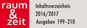 Inhaltsverzeichnis 2016/2017