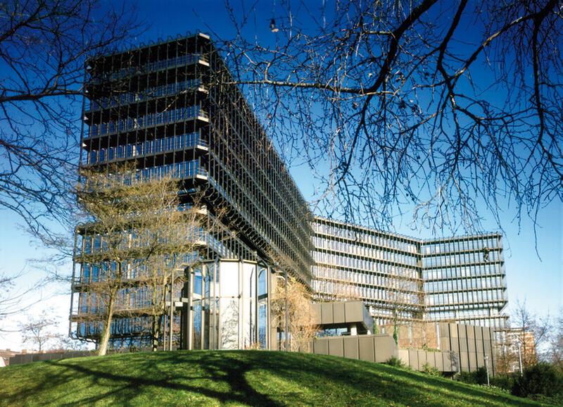 Isar-Gebäude des Europäischen Patentamts in München © EPA